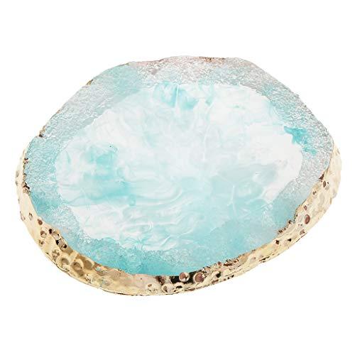 Homyl Professionelle Make-up-Palette, Farbmischpigmentplatte für NailArt-Lidschatten-Kosmetik-Make-up-Pigmentmischung - Blau, 97 x 85 x 10 mm