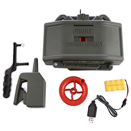 OviTop Elektrische Fernbedienung Wasserbombe Mine Spielzeug Taktische Ausrüstung für Nerf CS Spiel