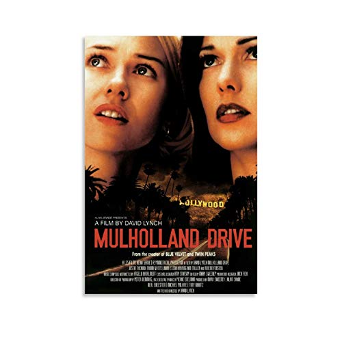 GSSK Mulholland Drive Movie Poster Poster Decorative Painting Canvas Wall Art Living Room Posters Bedroom Painting 08x12inch(20x30cm)