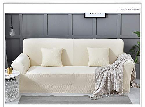 Funda de sofá Antideslizante,Funda de sofá elástica gruesa, cojín antiincrustante de sofá antideslizante de color sólido de cobertura total, funda de cojín de sala de estar, funda de protección de mu