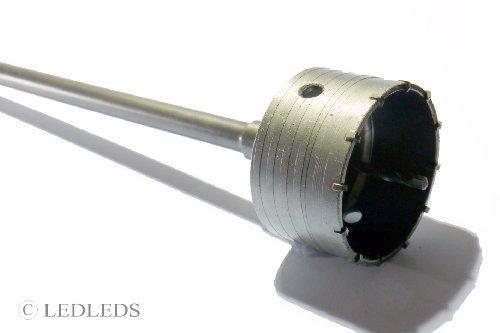 Fresa a Tazza mm 120 CAROTATRICE CON ASTA SDS PLUS 650 MM