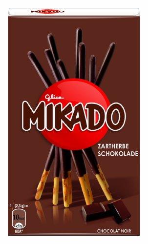 Mikado Zartherbe Schokolade, 4er Pack (4 x 75 g)