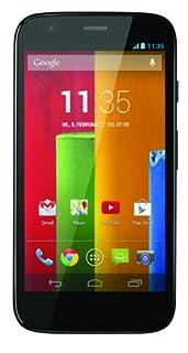 Motorola Moto G Smartphone (11,4 cm (4,5 Zoll) HD-Display, 5 Megapixel Kamera, 1,2 GHz Quad-Core-Prozessor, 8 GB interner Speicher, Android 4.3 OS) schwarz (B00GJG0Q0I) | Amazon price tracker / tracking, Amazon price history charts, Amazon price watches, Amazon price drop alerts