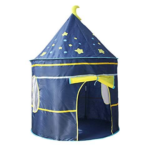 Girls & Boys Zelt, Das Zelt Blau - Rosa Leichte Traum Zelte Spielhaus for Kleinkind, Kinderspiel Jurte Zelte Teepee (Color : Pink, Size : 105 * 105 * 135CM)