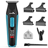 EUNON Mens Cordless Hair Clippers - T-outliner Professional Hair Trimmer Beard Trimmer Hair