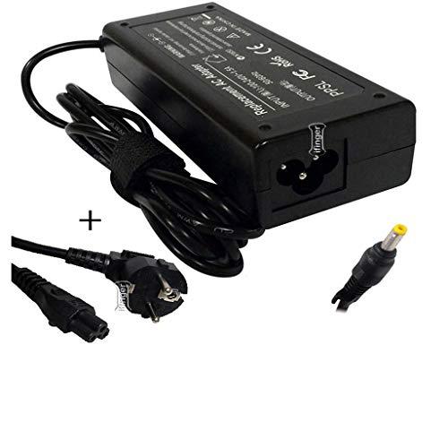 IFINGER Cargador para portatil HP Compatible 18.5V 3.5A - 1.7mm * 4.8mm 65W con Cable