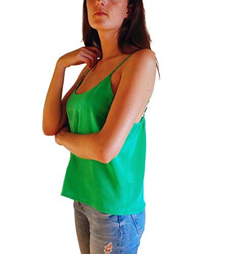 Posh Gear dames zijden blouse Estivoseta blouse van 100% zijde