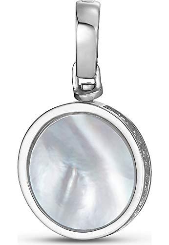 JETTE Silver Damen-Charm 925er Silber 33 Zirkonia One Size 87603261