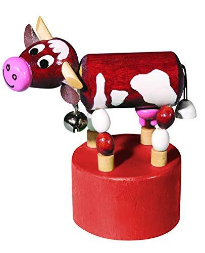 Detoa 12536 Vache articulée Jouet en bois