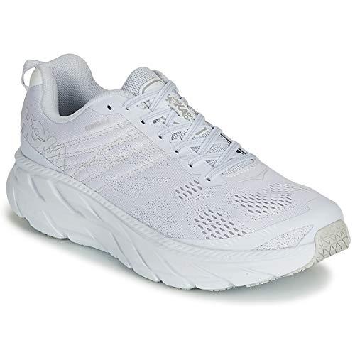 Hoka One One Clifton 6 Sportschuhe Herren Weiss - 45 1/3 - Laufschuhe Shoes