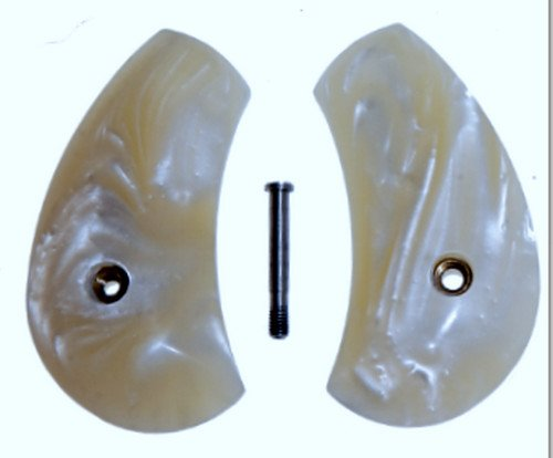 Premium Gun Grips Compatible Replacements for North American Arms Mother of Pearl Magnum Regular Grip