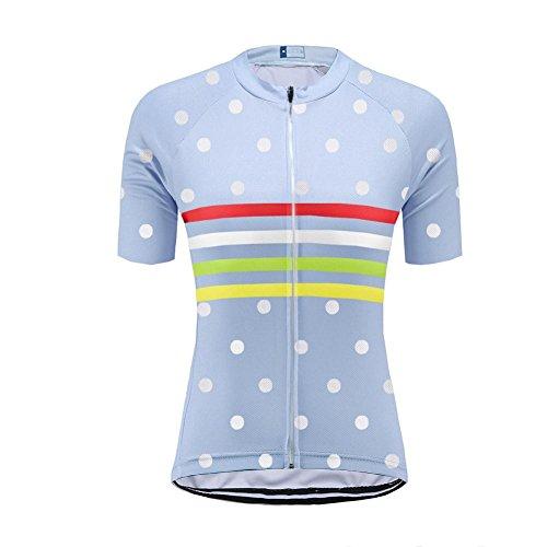 Uglyfrog Neue Sport im Freien Klassik Polyester Fahrradtrikot Frühling Damen Gemütlich Kurzarmtrikot Radfahren Jersey Triathlon Bekleidung