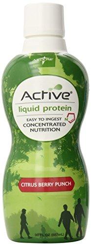 Medline - ENT693CB Active Liquid Protein Nutritional Supplement, 30 fl oz.- 4 Count