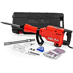 It is perfect for demolition, trenching, chipping, breaking holes in concrete, block, brick, tile stucco, housing foundation removal, concrete slab, oil chimney and much more! Adjustable 360 degree foregrip provides extra control that makes it easy t...