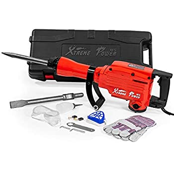 XtremepowerUS 2200Watt Heavy Duty Electric Demolition Jackhammer