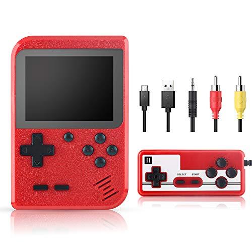 Xpassion Juegos Electrónicos Portátiles Consola de Juegos Portátil Consola Retro 400 Juegos...