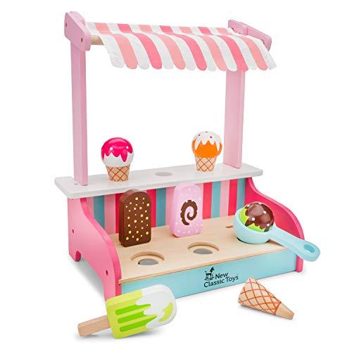 New Classic Toys - 11073 - Kinderrollenspiele - Eiscreme Shop