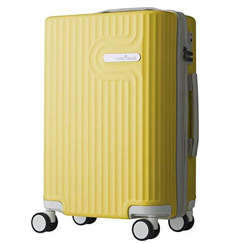 [レジェンドウォーカー] スーツケース ダブルキャスター 機内持ち込み可 保証付 35L 48 cm 3kg イエロー