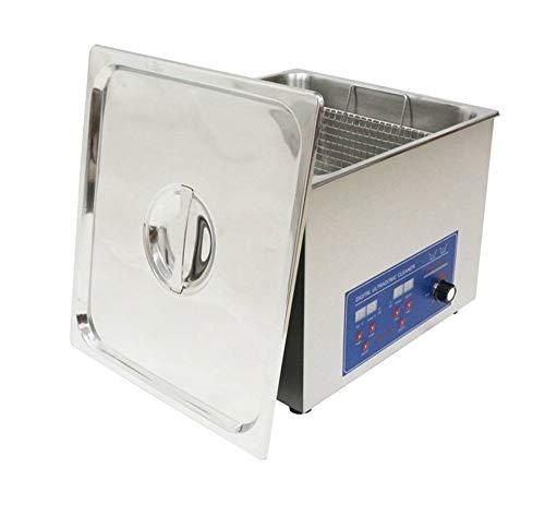 14L multifunctionele roestvrij staal ultrasone reiniger industriële kwaliteit wasmachine met een mand 80KHZ hoge frequentie