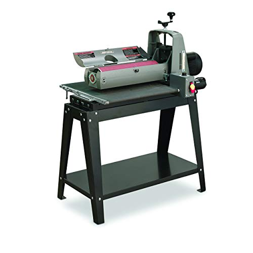 SUPERMAX TOOLS Drum Sander with Flatness Guarantee, Intellisand Technology and Patented Abrasive Attachment System. Model 19-38 (SUPMX-71938-D)