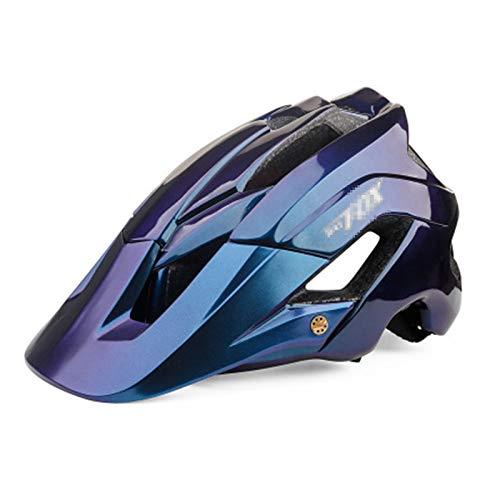 ASDFY Casco de Ciclismo para Mujeres y Hombres, Casco Protector de Seguridad Deportiva, Casco de Bicicleta MTB Moldeado Integrado, Ajustable, Ultraligero
