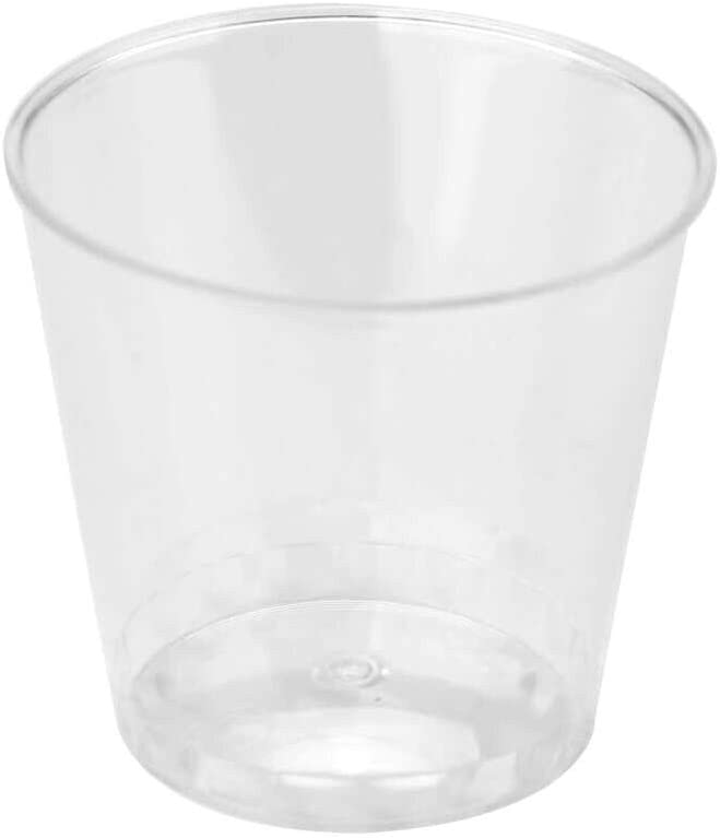Max 67% OFF Shot Glasses Popular brand 1 Oz Squat Cups Hard Disposable Crystal Clear Pl