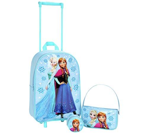 Disney Frozen Luggage Set Frozen Trolley Bag Coin Purse Handbag