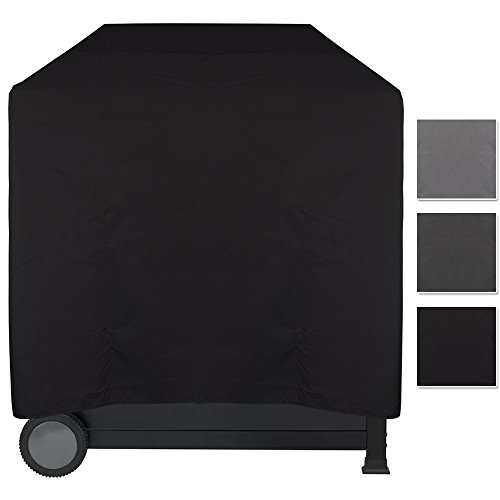Grill Abdeckhaube Lounge - wasserdichter BBQ Cover - pflegeleichte Universal Schutzhülle für alle Grillarten - Schutz vor Wasser, Schmutz und UV-Strahlen, Größe:L - 100 x 60 x 100 cm, Farbe:Schwarz