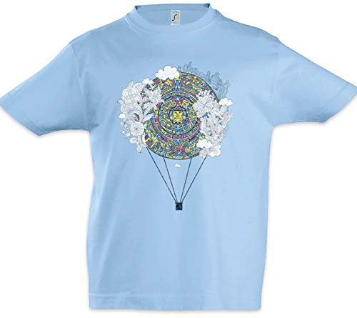 Urban Backwoods Mayan Calendar Balloon Kinder Jongens T-Shirt