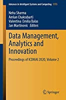 Data Management, Analytics and Innovation: Proceedings of ICDMAI 2020, Volume 2 (Advances in Intelligent Systems and Computing, 1175)