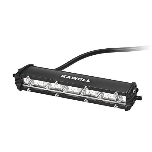LED Barra 4x4 18W, KAWELL Barra para Coche Quad Faro Antinie