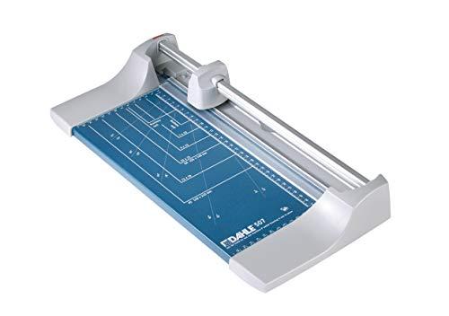 Dahle - Cizalla para papel (46,4 x 21,3 x 7,3 cm, longitud de corte 320 mm, capacidad de corte 0,8 mm, tamaño A4), color azul