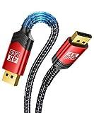 4K DisplayPort Cable, JSAUX 3M DP Cable (4K@60Hz,2K@144Hz,2K@165Hz,3D) High Refresh DisplayPort to DisplayPort...