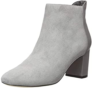 Cole Haan Women's Nella Bootie (65MM) Ankle Boot, Quiet Shade Suede, 10 B US