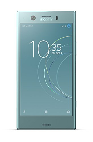 Sony Xperia XZ1 compact 4.6 Inch HD Screen, Android 8.0 Oreo, UK SIM-Free Smartphone with 4 GB RAM and 32 GB Storage (Single SIM) - Horizon Blue