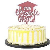 PALASASA 2019 - Adorno para tarta (acrílico, graduación en la escuela secundaria, graduación universitaria 2019)