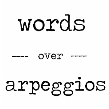Words Over Arpeggios