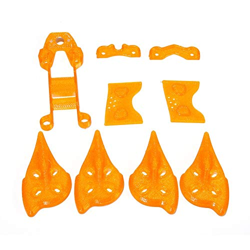 iFlight 3D Printed TPU Material Accessory Frame Kit for Cidora SL5 5inch 215mm Freestyle RC FPV Racing Drone Quadcopter Parts (Orange)
