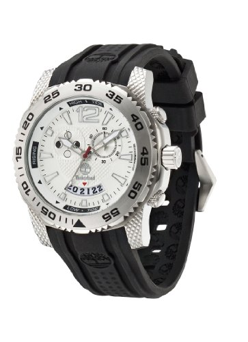 Timberland Herren-Armbanduhr XL Analog Quarz Silikon TBL.13319JS/04
