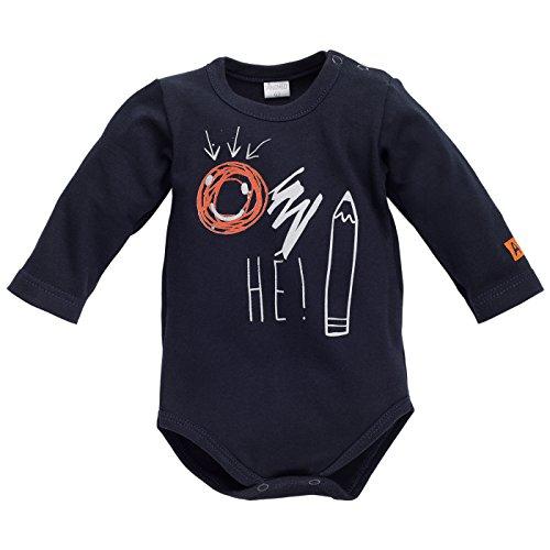 Pinokio - Body - para bebé niño Azul Oscuro 68