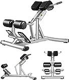 TYSJL Silla de ejercicios básicos y abdominales, entrenamiento de ABS, 7 engranajes ajustables, más tubo de soporte grueso, almohadilla antideslizante, estable y duradero, para deportes de gimnasio pa