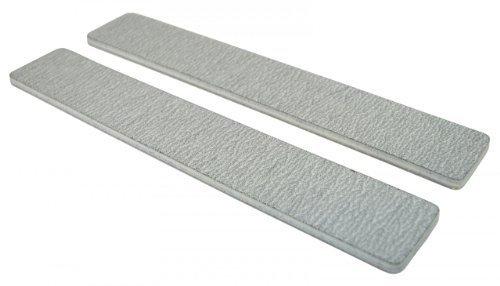 Standard Zebra 80/80 (Wht Ctr) 1-1/8 Jumbo Nail File 12 Pack by Nail File Guru