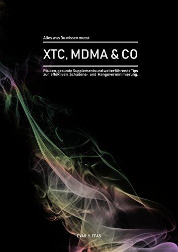 XTC, MDMA & Co.: Risiken, gesunde Supplements und weiterführende Tips zur effektiven Schadens- und Hangoverminimierung.