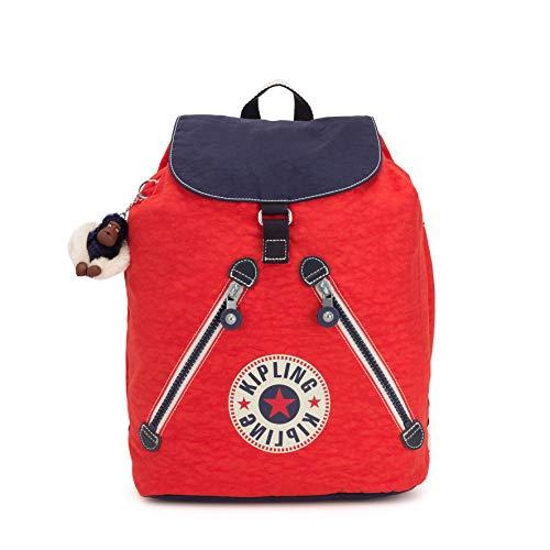 Kipling Damen Fundamental Rucksack Rot (Active Red Bl)