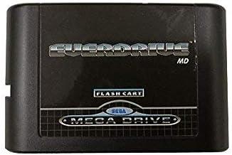 OSTENT 5 générations de cartouche de carte flash de la version MD compatible pour Sega Mega Drive Genesis Console