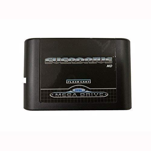 OSTENT Cartucho Flash de 5 generaciones de la versión MD Compatible con la consola Sega Mega Drive Genesis