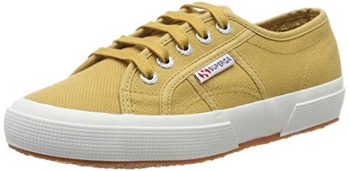 SUPERGA 2750-COTU Classic, Sneaker Unisex-Bambini e Ragazzi, Beige (Beige Taffy Wbl), 35 EU