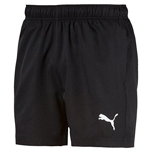 PUMA Herren Active Woven Short 5` Hose, Black, L