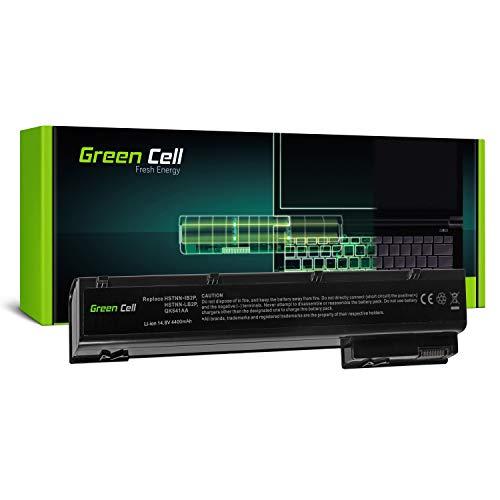 Green Cell Standard Serie VH08 VH08XL Laptop Akku für HP EliteBook 8560w 8570W 8760w 8770w (8 Zellen 4400mAh 14.8V Schwarz)