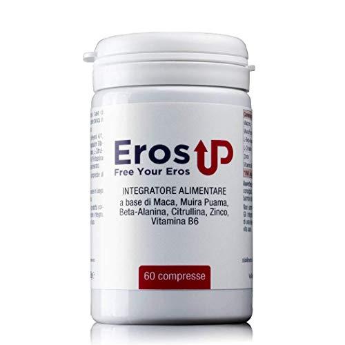 ErosUp - 60 Compresse 2400mg Per Dose Giornaliera - Ultima Formulazione – Integratore Uomo 100% Naturale Senza Controindicazioni - Prodotto in Italia.